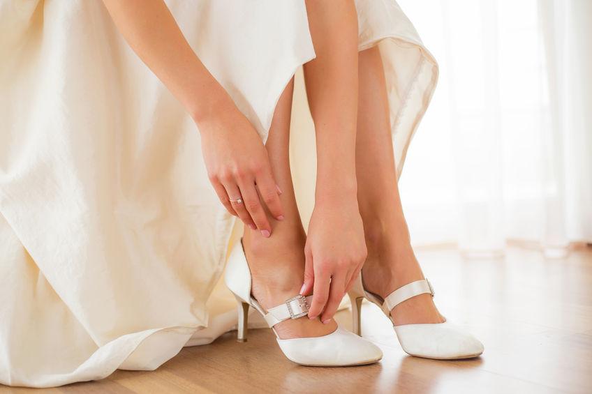 Rechtzeitig an die Hochzeitsschuhe denken!